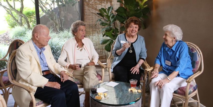 Lakehouse West Residents Socialzing